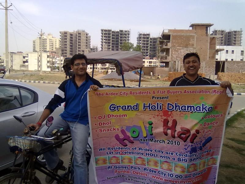 Hard Work for Holi Campaign